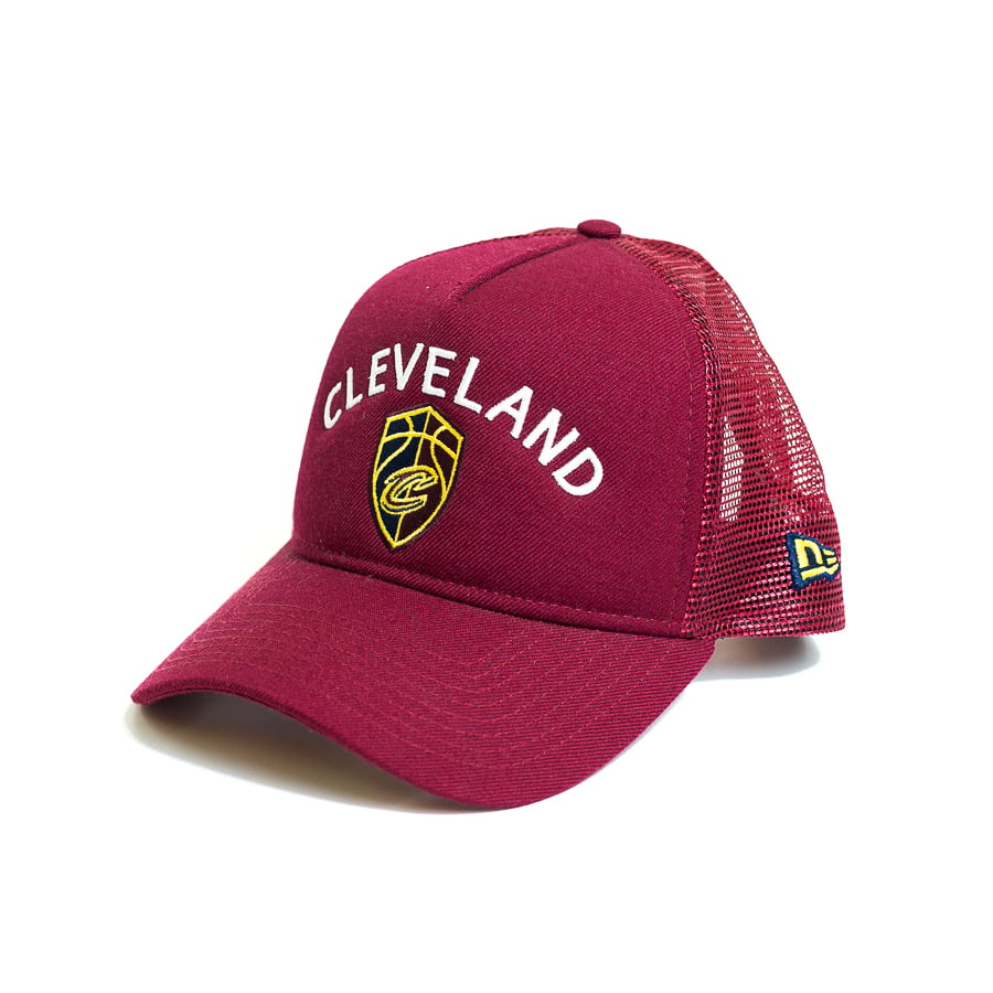 Boné New Era 940 AF SN VST Sport Class Cleveland Cavaliers NBA Aba Curva Bordô Snapback