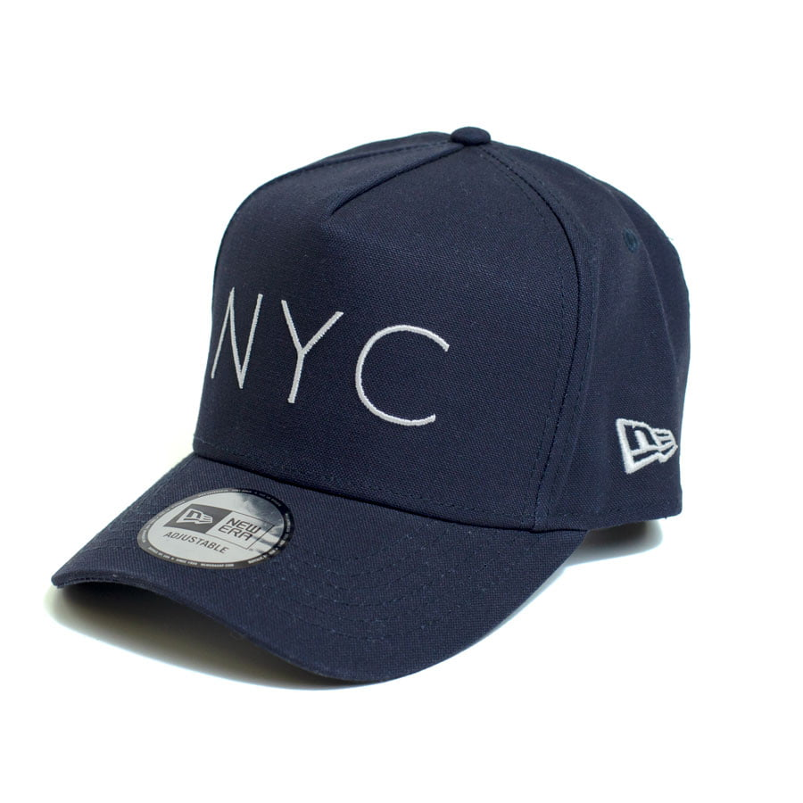 Boné New Era 940 Sn NYC Aba Curva Azul Snapback