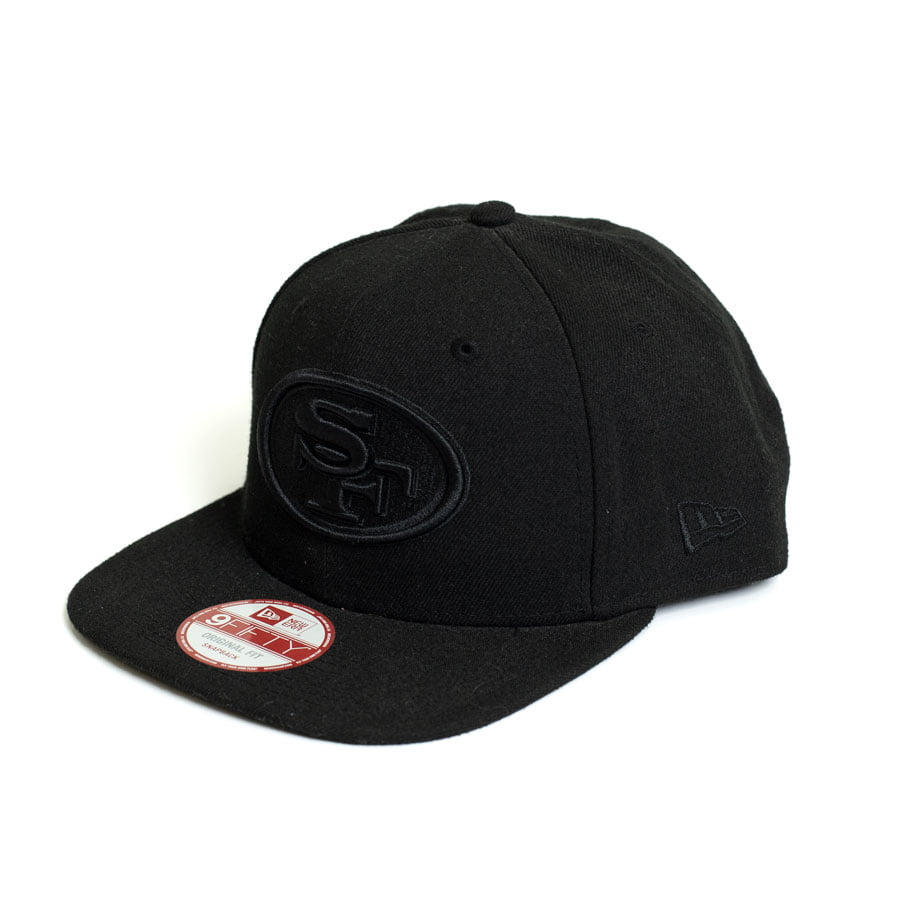 Boné New Era 950 Of San Francisco 49ers NFL Aba Reta Preto Snapback