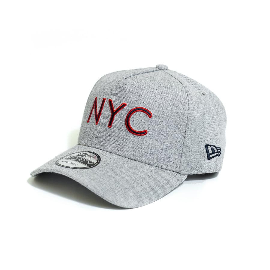 Boné New Era 940 AF SN Veranito NYC Aba Curva Cinza Snapback