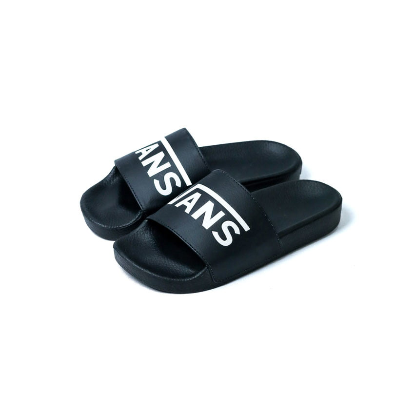 Chinelo Vans Slide On Black White