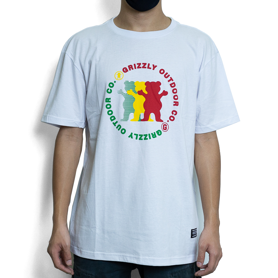 CAMISETA GRIZZLY FACEOUT TEE