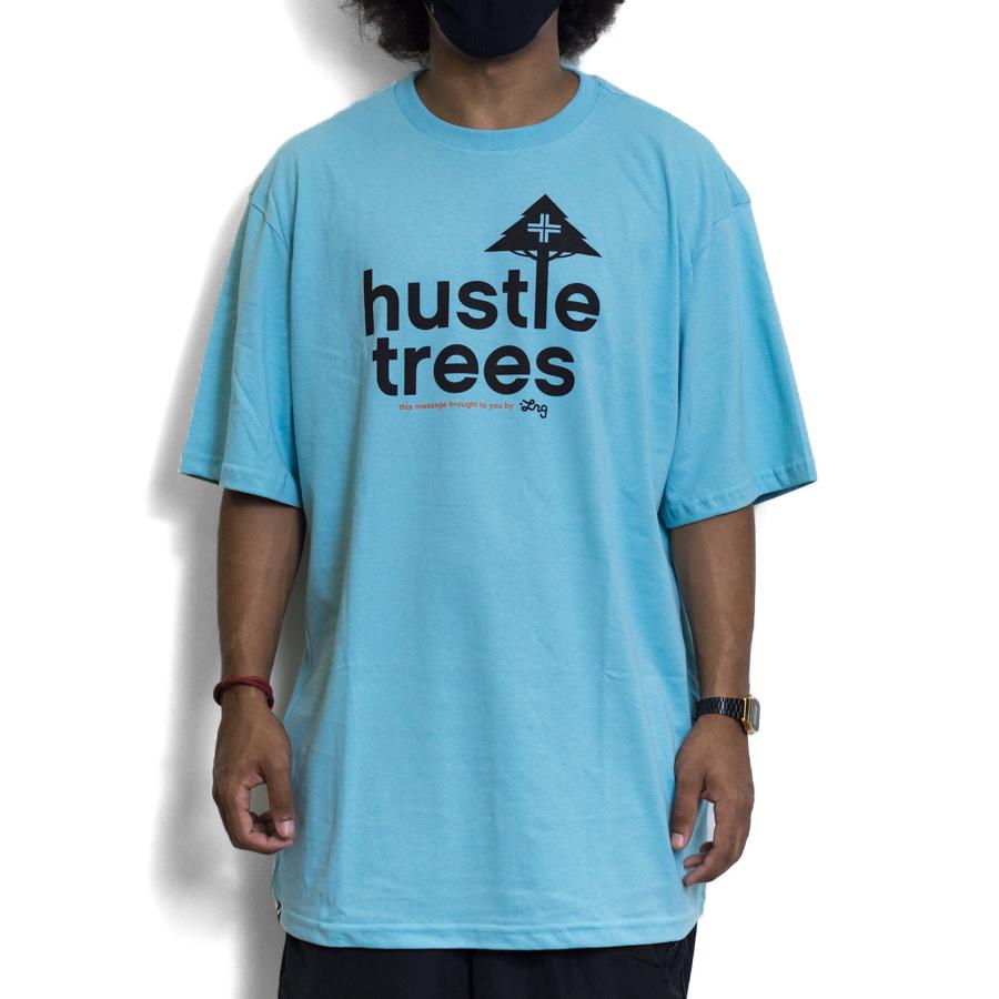 CAMISETA LRG SIZE HUSTLE TREES