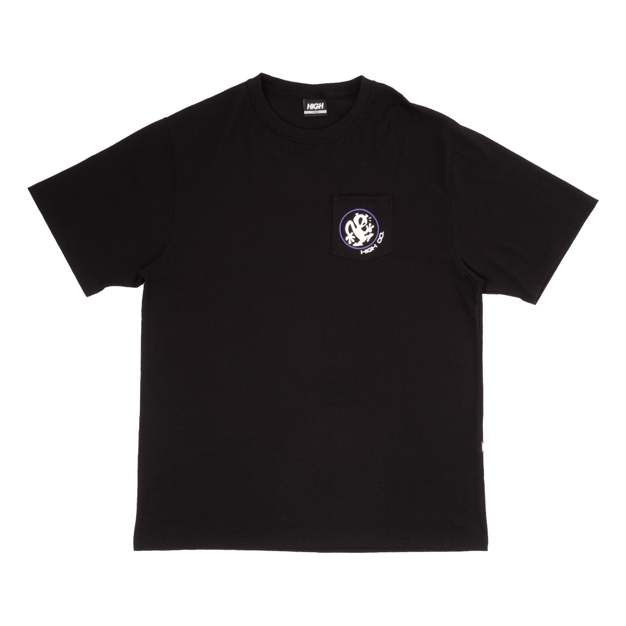 CAMISETA HIGH POCKET TEE OUTSIDER BLACK