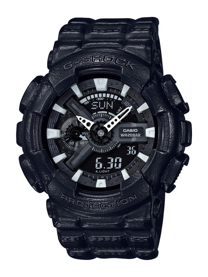 Relógio Casio G-Shock Analógico Digital Preto GA-110BT-1ADR