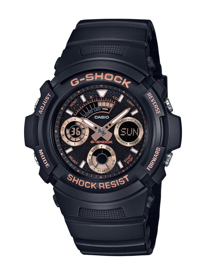 Relógio Casio G-Shock Analógico Digital Preto AW-591GBX-1A4DR