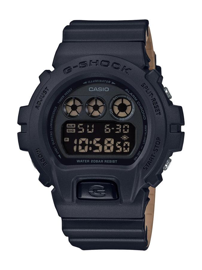 Relógio Casio G-Shock Digital Preto DW-6900LU-1DR