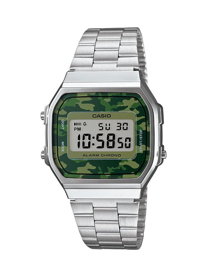 Relógio Casio Vintage Digital Prata A168WEC-3DF