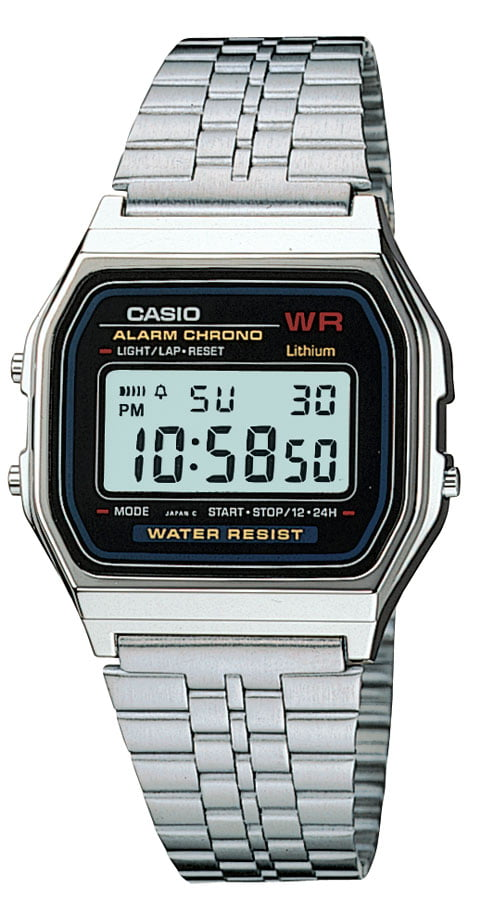 Relógio Casio Vintage Digital Prata A159WA-N1DF