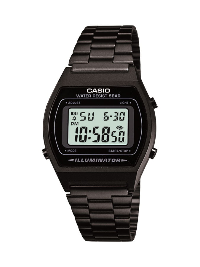 Relógio Casio Vintage Digital Preto B640WB-1ADF