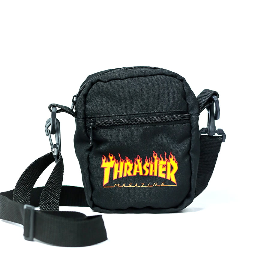 Bolsa Shoulder Bag Thrasher Flame