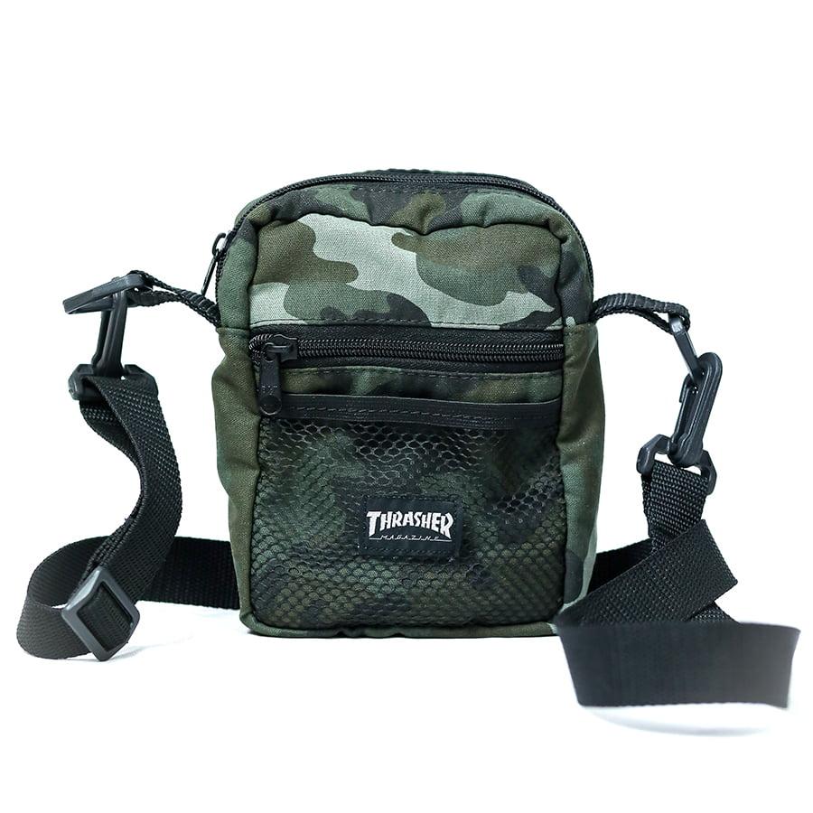 Bolsa Shoulder Bag Thrasher Camo