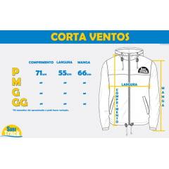 Jaqueta RVCA Corta Vento Packaway Anorak Preta