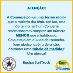 Tênis Converse Chuck Taylor All Star European Ox Preto Branco CT04480002