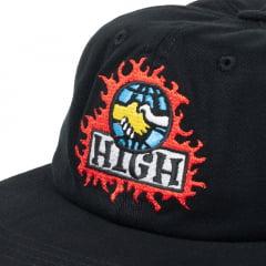 BONE HIGH 6 PANEL MONDO BLACK