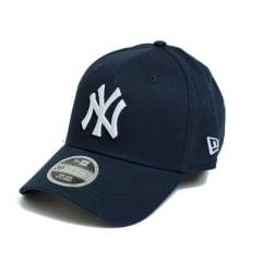 Boné New Era 940 SN NY Yankees MLB Aba Curva Azul Fechado