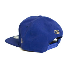 Boné New Era 950 Of SN Military Visor LA Dodgers MLB Aba Reta Azul Snapback