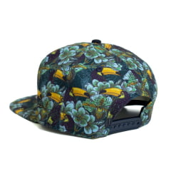 Boné New Era 950 Of Tucano Tropical Aba Reta Verde Snapback
