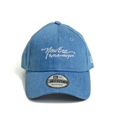 Boné New Era 920 St Jeans Ipe Buffalo New York Aba Curva Azul Velcro