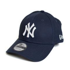 Boné New Era 940 Sn NY Yankees MLB Aba Curva Azul Snapback
