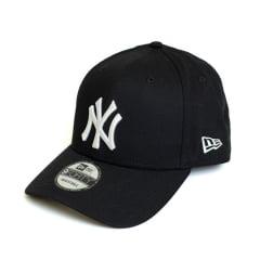 Boné New Era 940 SN NY Yankees MLB Aba Curva Preto Snapback