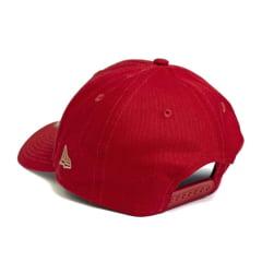 Boné New Era 940 Sn Veraneto Mini Logo NY Yankees MLB Aba Curva Vermelho Snapback