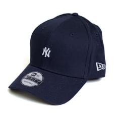 Boné New Era 940 Sn Veranito Mini Logo NY Yankees MLB Aba Curva Azul Snapback