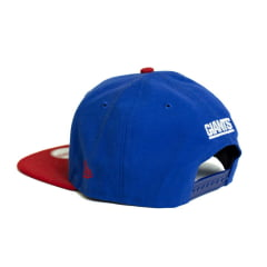 Boné New Era 9Fifty NY Giants NFL Aba Reta Azul Snapback