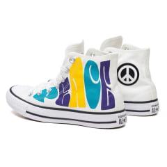 Tênis Converse Chuck Taylor All Star Hi Peace Branco