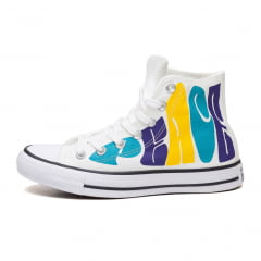 TENIS CONVERSE ALL STAR MID PEACE