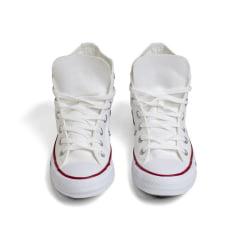 Tênis Converse Chuck Taylor All Star Core Hi Branco Vermelho