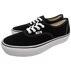 Tênis Vans Authentic Plataforma Black/White