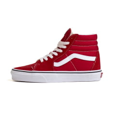 TENIS VANS SK8-HI RACING RED/TRUE WHITE