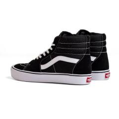 Tênis Vans Sk8-Hi Lite Black White