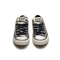 Tênis Converse Chuck Taylor All Star Animal Print Bege Amendoa