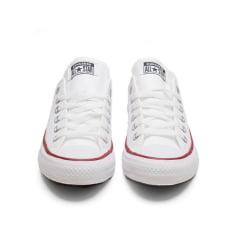 Tênis Converse Chuck Taylor All Star Branco Ox Vermelho