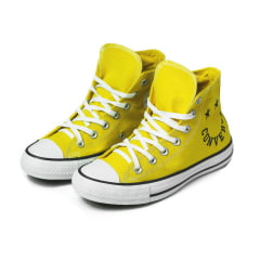 TENIS CONVERSE CHUCK TAYLOR ALL STAR MID SMILE AMARELO