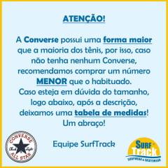 Tênis Converse Chuck Taylor All Star Monochrome Hi Preto Preto CT04470002