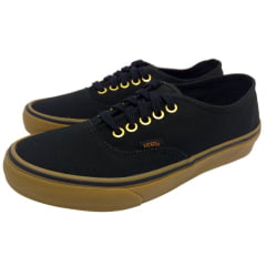 Tênis Vans Authentic Black/Rubber