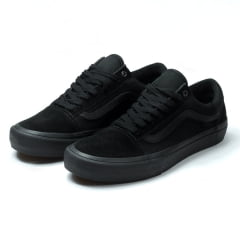 Tênis Vans Old Skool Pro Blackout