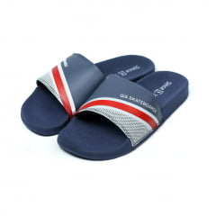 Chinelo Qix Slide Triangle Marinho