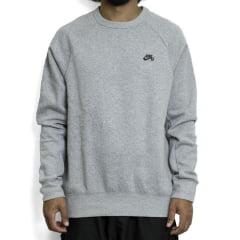 Moletom Nike Sb Icon Fleece Cinza