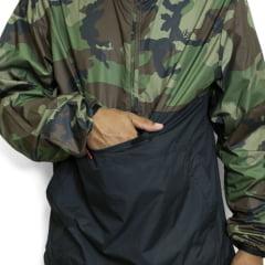 Jaqueta Nike Sb Corta Vento Anorak Jacket Camuflada