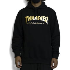 MOLETOM THRASHER GOLD FOIL MAG