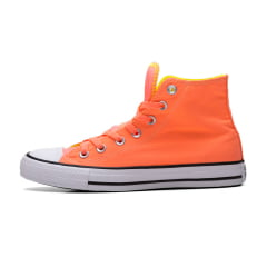 TÊNIS CONVERSE CHUCK TAYLOR ALL STAR MID POCKET CORAL