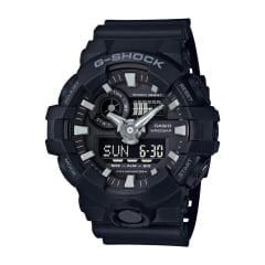 Relógio Casio G-Shock Analógico Digital Preto GA-700-1BDR