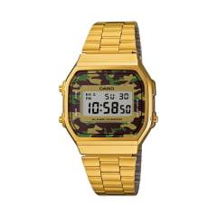 Relógio Casio Vintage Digital Dourado A168WEGC-3DF