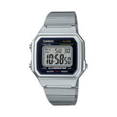 Relógio Casio Vintage Digital Prata B650WD-1ADF