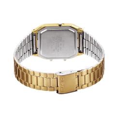 Relógio Casio Vintage Analógico e Digital Dourado AQ-230GA-9DMQ
