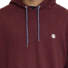 Moletom Element Fechado Cornel P/O Bordo